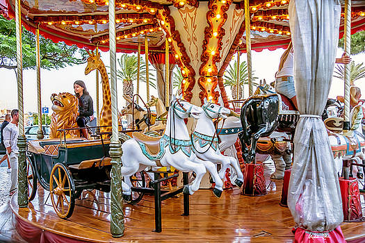Carousel Dreams - Lagos - Portugal by Madeline Ellis