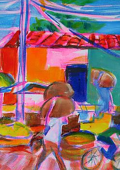 Carrying Grain by Karen Dawson