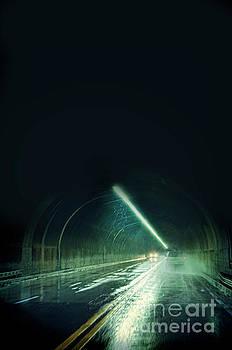 Jill Battaglia - Cars in a Dark Tunnel
