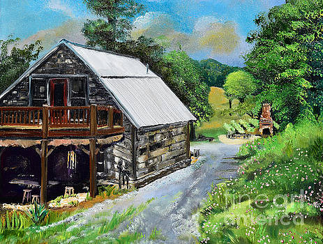 Cartecay Tasting Barn - Vineyard - Ellijay by Jan Dappen