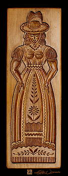 Hanne Lore Koehler - Carved Baking Mold #27