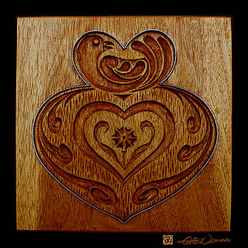 Hanne Lore Koehler - Carved Cookie Mold 11