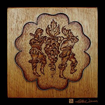 Hanne Lore Koehler - Carved Wood Baking Mold #24