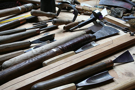 Carvers Tools by Sherry Leigh Williams