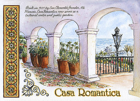 Casa Romantica Terrace by Leslie Fehling