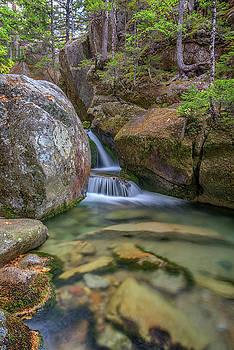 Cascade at Katahdin Stream by Rick Berk