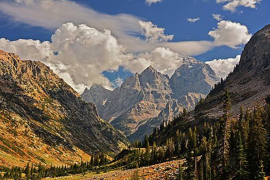 Raymond Salani III - Cascade Canyon with Storm Clearing