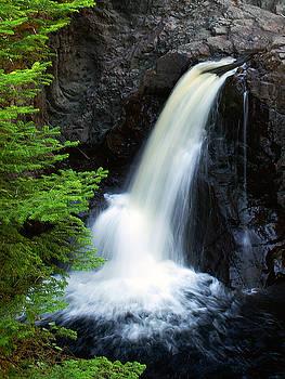 Cascade Falls by Bill Morgenstern