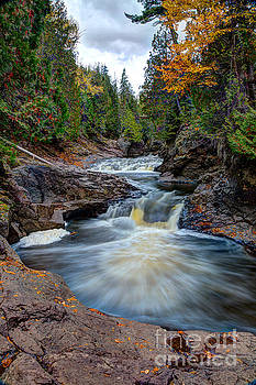 Wayne Moran - Cascade Falls North Shore of Lake Superior Minnesota