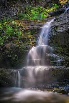 Cascade Falls, Saco, Maine by Rick Berk