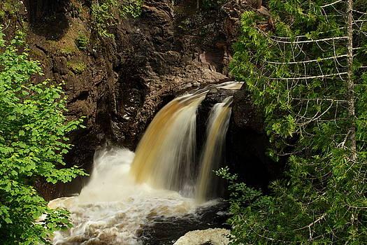 Cascade Falls V by Amanda Kiplinger