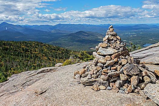 Toby McGuire - Cascade Mountain Peak Rock Cairn Keene NY