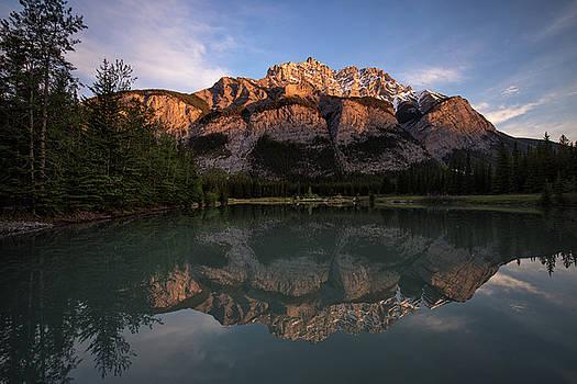 Cascade Ponds reflections by Celine Pollard