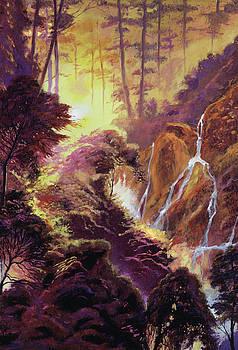 Cascade Ravine by David Lloyd Glover