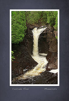Cascade River scrapbook page by Heidi Hermes