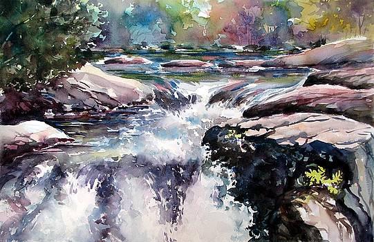 Cascade Three by Chito Gonzaga
