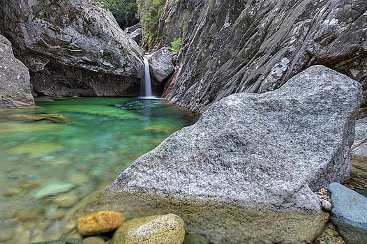 Cascades Du Polischellu, Corsica by Martin Wackenhut