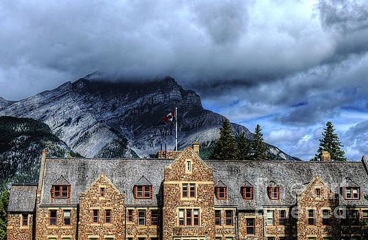 Wayne Moran - Cascades of Time Gardens Banff National Park Alberta Canada