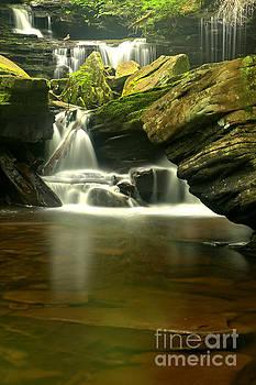 Adam Jewell - Cascading Waterfalls