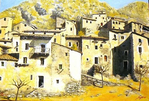 Case a Supino Italy by Rosario Francalanza