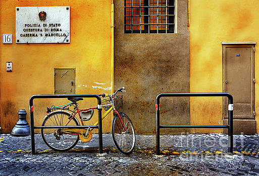 Caserma S. Marcello Bicycle by Craig J Satterlee
