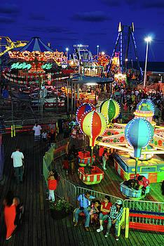 Casino Pier Pre Sandy by James Kirkikis