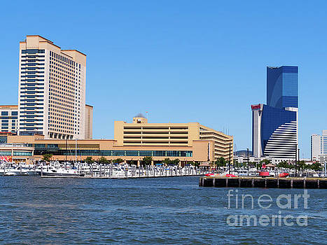 Casinos and State Marina, Atlantic City, New Jersey by Louise Heusinkveld
