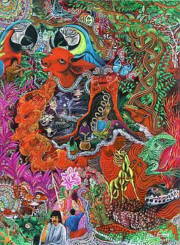 Caspi Shungo by Pablo Amaringo