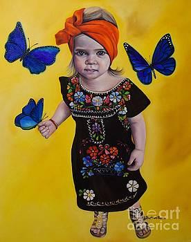 Cassidy-Blue by Barbara Rivera