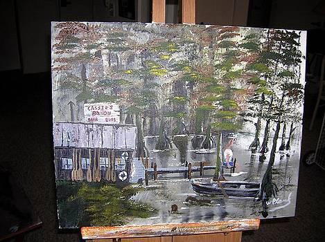 Cassie's Bayou by William Plank