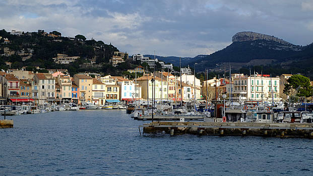 Cassis Town and Harbor by August Timmermans