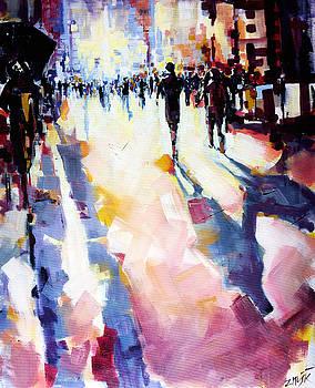 Casting shadows by Zlatko Music