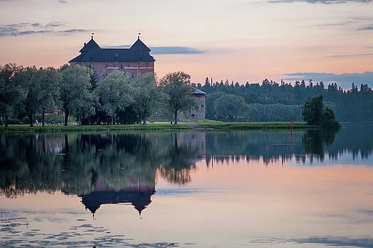Castle After the Sunset by Teemu Tretjakov