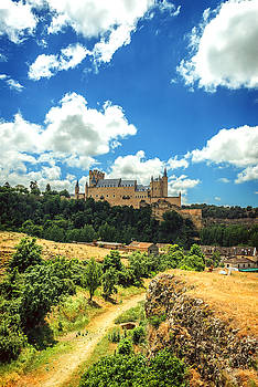 Eduardo Huelin - Castle Alcazar of Segovia Spain
