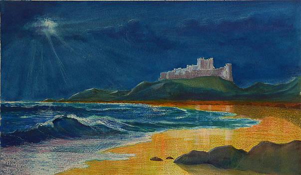 Castle by Moonlight by David Godbolt
