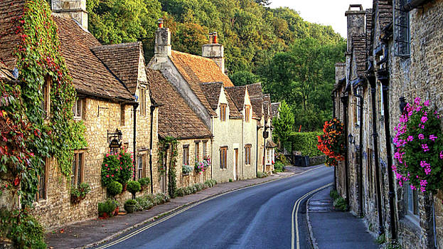 Castle Combe High Street by Michael Hope