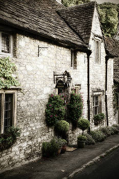 Castle Combe Old Tea Room by Michael Hope