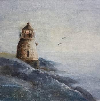 Castle Hill Light by Michael McGrath
