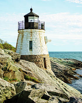 Castle Hill Lighthouse by Emily Kay