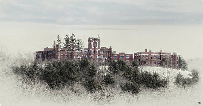 Castle in Maine by John Meader