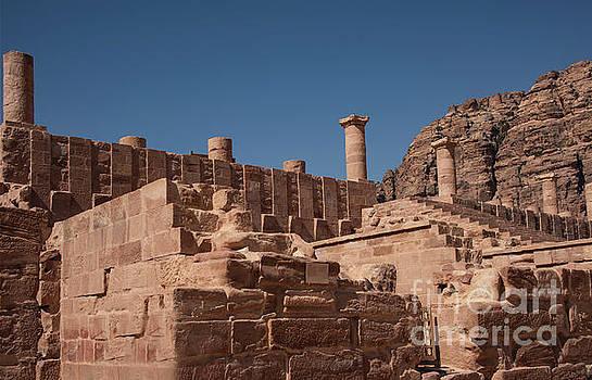 Castle in Petra by Mae Wertz
