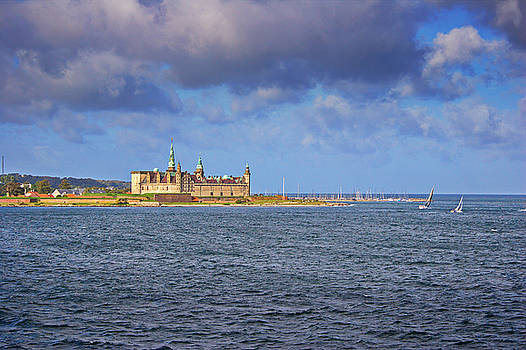 Castle Kronborg and sailing yachts by Intensivelight