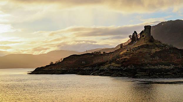Castle Moil Sunrise by Holly Ross