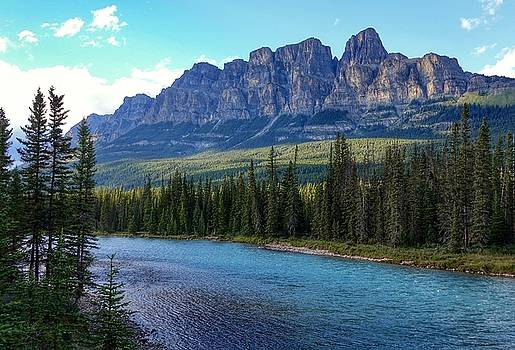 Castle Mountain, AB  by Heather Vopni