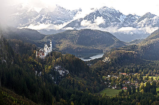 Castle Neuschwanstein 2 Bavaria Germany by Franz Fotografer
