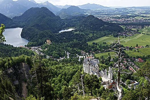 Castle Neuschwanstein Bavaria Germany by Franz Fotografer