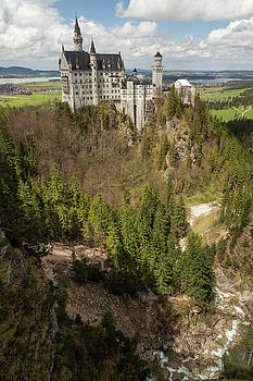 Castle Neuschwanstein by John Daly