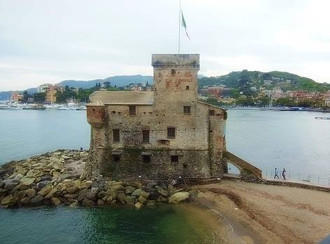 Castle of Rapallo by Marilyn Dunlap
