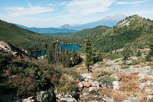 Castle Peak Trail to Heart Lake, California by Andrea Borden