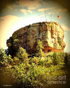 Castle rock Antiqued by Trisha French